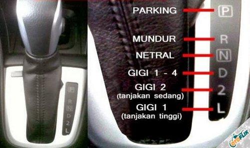 Tips Mengemudi Mobil Matic